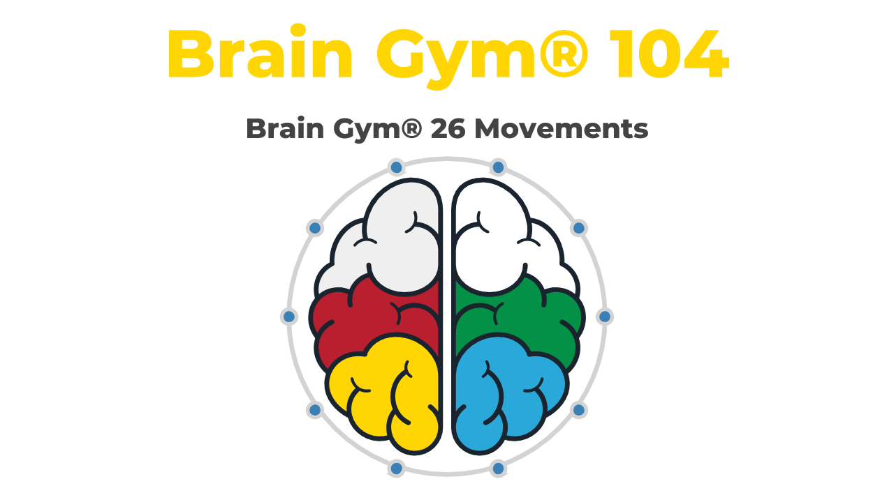 cursus Play, Learn & Brain Gym® 104